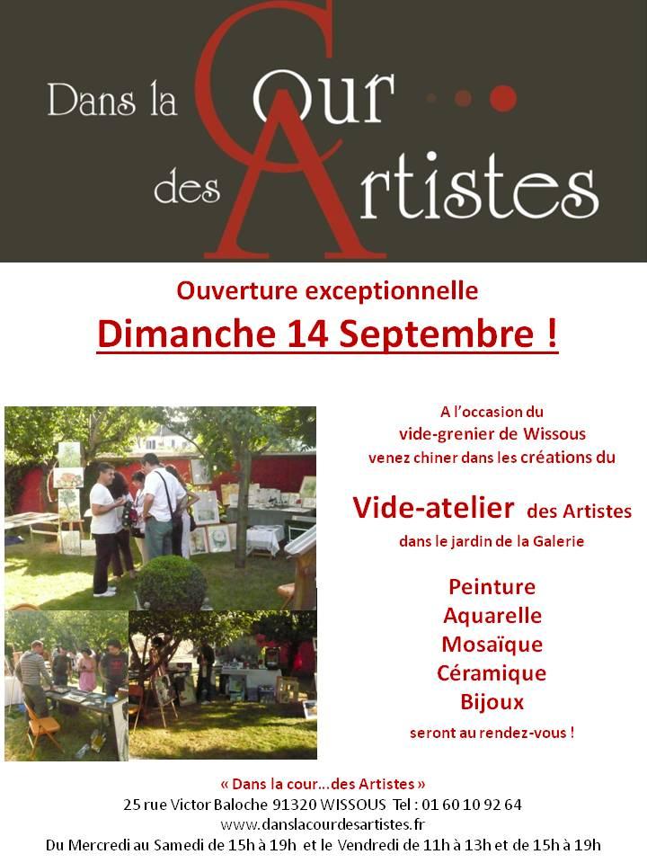 Vide-Atelier 2014 Wissous