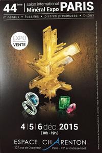 Salon International des Minéraux - Paris