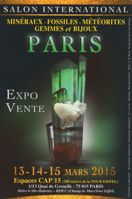 Salon International Minéraux et Bijoux - Paris 15e