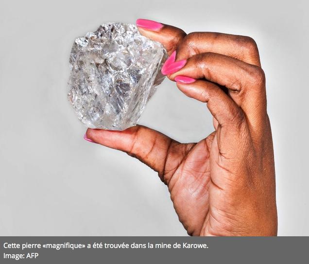 2e plus gros diamant du monde