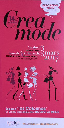 Salon CréaMode - Bijoux, accessoires, vêtements de créateurs