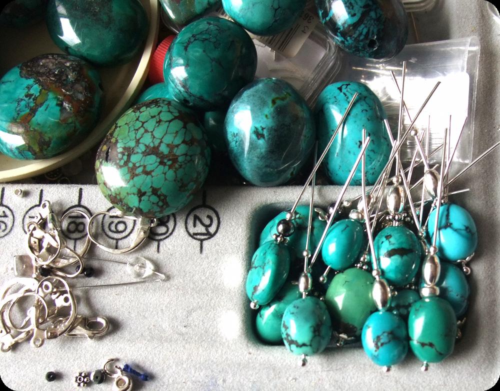 Atelier Perles Turquoise