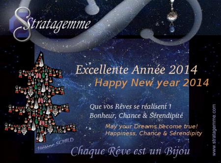 Bonne Année 2014 - Happy New Year 2014