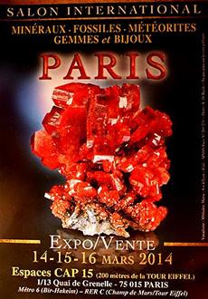 Salon Minéraux et Bijoux Paris