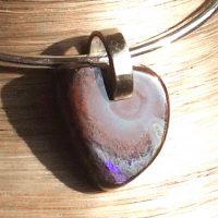 Pendentif Opale boulder et Argent