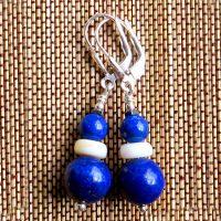 Boucles d'oreilles Lapis Lazuli et Argent