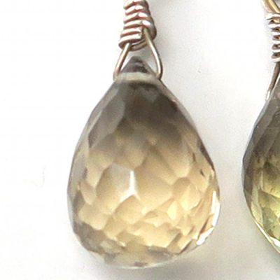 Boucles d'oreilles Labradorite et Argent