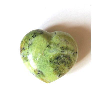 Coeur d'Opale verte - Minéraux Stratagemme