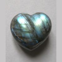 Coeur de Labradorite - Minéraux Stratagemme