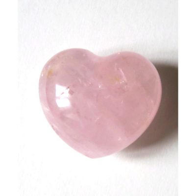 Coeur de Quartz rose - Minéraux Stratagemme