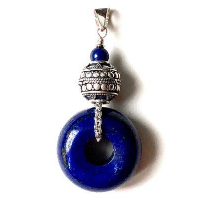 Pendentif Lapis Lazuli et Argent