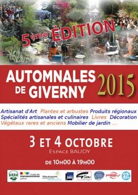 Automnales de Giverny 2015
