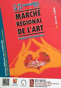 Marché de l'art 2015 - Conflans Ste Honorine