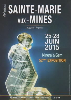 Salon des Minéraux de Sainte-Marie-Aux-Mines