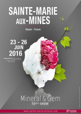 Salon de Minéraux - Mineral and Gem - Sainte Marie Aux Mines