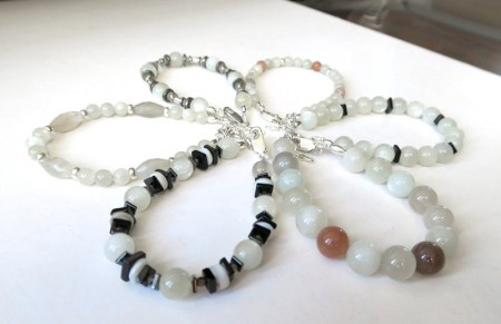 Bijoux Stratagemme - Bracelets Pierre de Lune