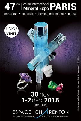 Salon international des minéraux - PARIS Décembre 2018