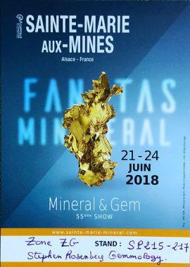 Mineral & Gem - Salon International des Minéraux et Bijoux 2018