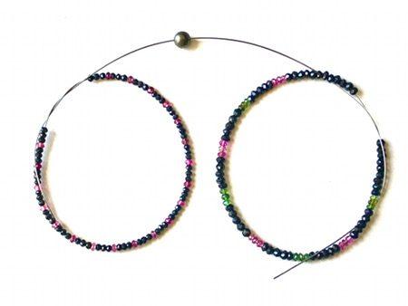 Bijoux sur mesure : Proposition pour 2 Bracelets Tourmaline et Argent