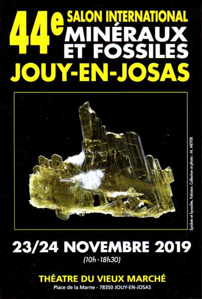 Salon International Minéraux, Fossiles et Bijoux
