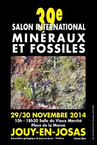 Salon Minéraux et Bijoux - 2014 - Jouy en Josas (78)