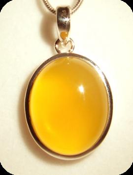 Pendentif Opale de feu