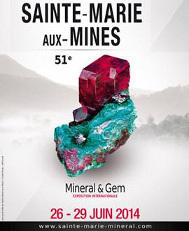 Salon Minéraux à Sainte Marie Aux Mines