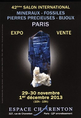 42ème Salon International - Minéraux & Bijoux